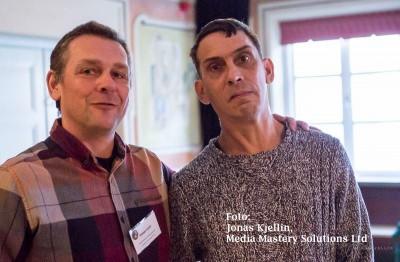 Mikael & Mikael på SLH vårmöte